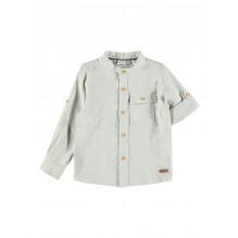 Name It Bird skjorte - Oatmeal