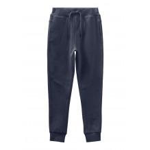 Name It Voltano ensfarvede sweatpants mini - Dark Sapphire
