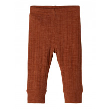 Name It Wang baby leggings i merinould - Mocha Bisque