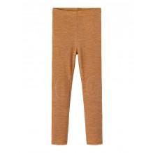Name It Wang leggings i merinould - Brown Sugar