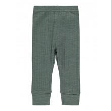 Name It Wang baby leggings i merinould - Duck Green