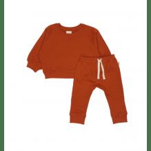 Petit Piao joggingsæt - Rust