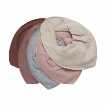 Pippi Tørklædesmække 5-pak - Burlwood