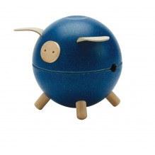 Plantoys sparegris - blå