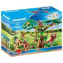 Playmobil Family Fun Orangutanger i træet - 70345