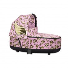 Priam Lux Carry Cot Fashion Edition - Cherubs Pink