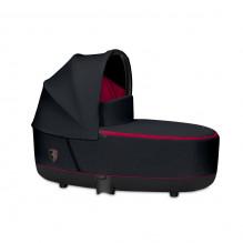 Priam Lux Carry Cot Fashion Edition - Ferrari Victory Black