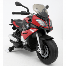 Rastar BMW elmotorcykel 6V – rød