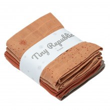 Tiny Republic stofbleer 5-pak - Rust combi