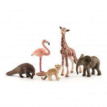 Schleich 5 vilde dyr