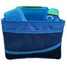 Sistema Lunch Bag køletaske m. tilbehør - Blå/Blå