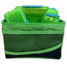Sistema Lunch Bag køletaske m. tilbehør - Grøn/Grøn
