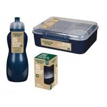 Sistema Renew madpakkesæt 3 dele - Mørkeblå