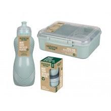 Sistema Renew madpakkesæt 3 dele - Mintgrøn