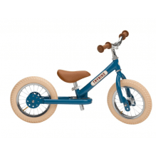 TRYBIKE Balancecykel 2 hjul - Blå