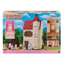 Sylvanian Families - Slotsvilla m. elevator
