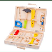New Classic Toys værktøjskasse - 10 dele