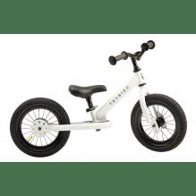 Trybike 2-hjulet balancecykel - hvid