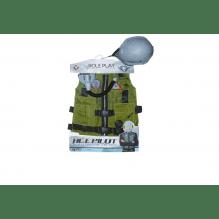 Udklædningssæt jægerpilot - grøn