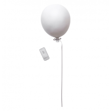 Tiny Republic LED Ballonlampe - hvid