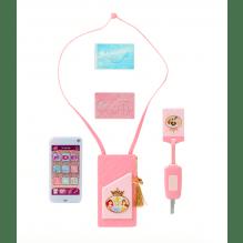 Disney Princess Style Collection taske og telefon - lyserød