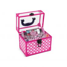 4-Girlz Mega Fashion sminkeboks - lyserød