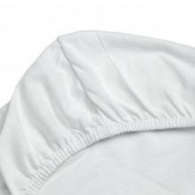 Soft Nordic økologisk Jersey stræklagen 30x75x4 cm - Hvid