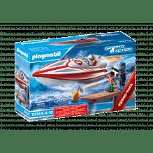 Playmobil Speedboat Racer - 70744