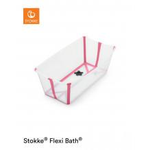 Stokke Flexi Bath badekar - Transparent Pink