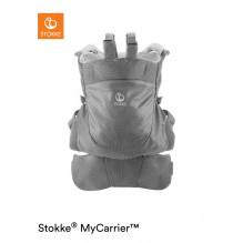 Stokke MyCarrie Front and Back bæresele - Grey Mesh