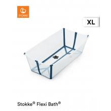 Stokke Flexi Bath X-Large badekar - Transparent blåt