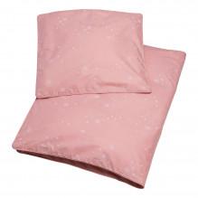 Tiny Republic babysengetøj 70x100, Snow Flake - Rose Tan