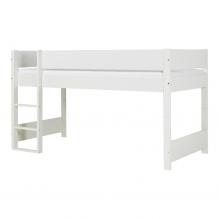 Tiny Republic Huxie halvhøj seng 70x160 - Hvid