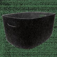 Tiny Republic filtkurv, XL - Mørk Grå Melange