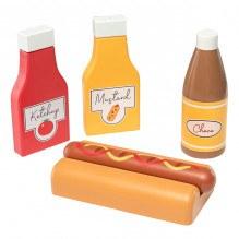 Tiny Republic Play hotdogsæt i træ