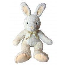 Tiny Republic Play kanin med sløjfe 50 cm - Hvid