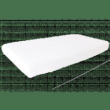 Heybasic 3D lux air net stræklagen - hvid - 60x120 cm.