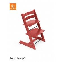 Tripp Trapp højstol - warm red