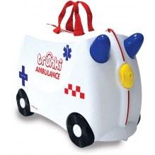 Trunki Abbie the Ambulance kuffert - Hvid