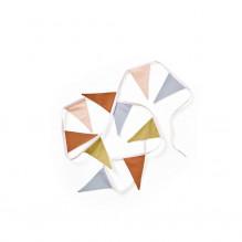 Kid's Concept flagvimpel - beige/blå