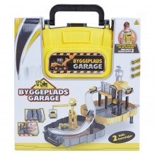 Wheel Garage byggeplads inkl. 2 køretøjer