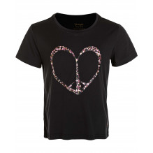 Zig Zag Dream gymnastik t-shirt - Black