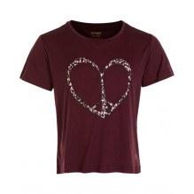 Zig Zag Dream gymnastik t-shirt - Fig