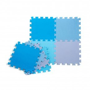 Babytrold gulvpuslespil - Blå