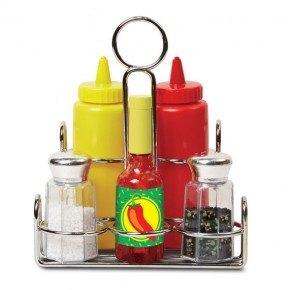 Melissa & Doug Ketchup Sæt - Multi