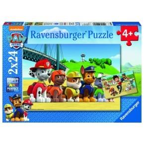 Ravensburger, Paw Patrol Puslespil 2 stk.