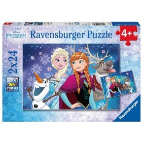 Ravensburger Frost Puslespil, 2 stk.