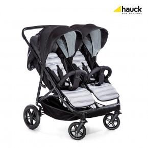 Hauck Rapid 3R Duo - Silver/Charcoal Klapvogn