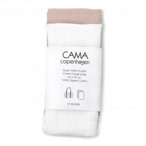 CAMA COPENHAGEN Stofblee 2pak - Hvid/soft rose