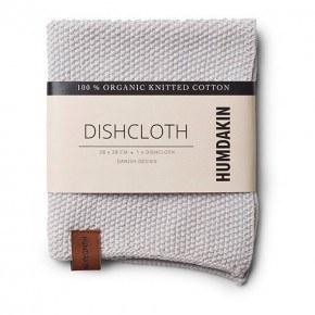 HUMDAKIN Knitted dishcloth - Purple Grey